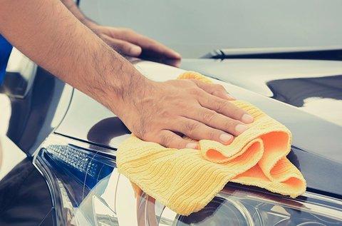 Prémium külső autómosás és belső takarítás