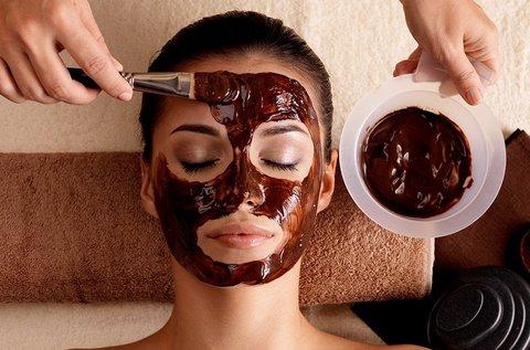 Tápláló csokoládés arckezelés antioxidánsokkal
