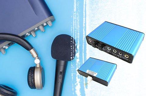 USB 5.1 külső hangkártya