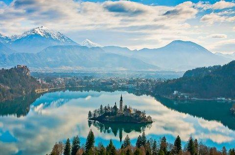 3 napos kalandozás a Bledi-tónál, hétvégén is