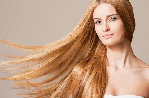 Joico hajújraépítő kezelés frissítő hajvágással