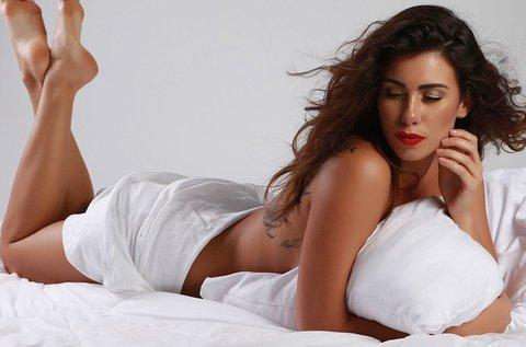 Exkluzív glamour fehérneműs fotózás