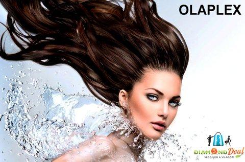 Olaplex hajfiatalító kezelés vágással, minden hosszra