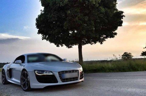 3 körös Audi R8 autóvezetés a Hungaroringen