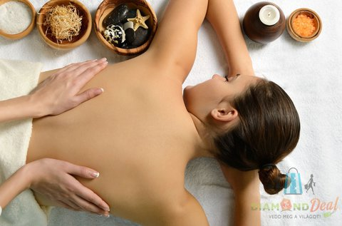 60 perces teljes testes wellness masszázs