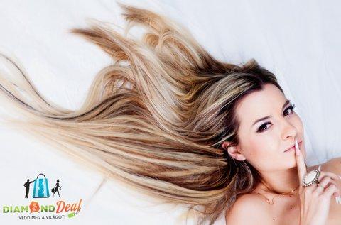 Új frizura fóliás melírozással és hajvágással