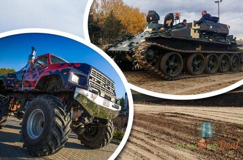 Valódi Tank és Big Foot élményvezetés