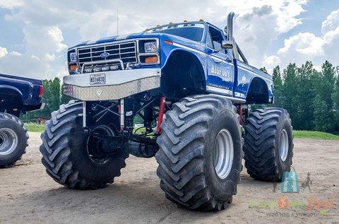 Taposs a gázra 600 lóerős Monster Truckkal!