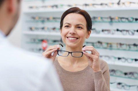 Vékonyított komplett szemüveg