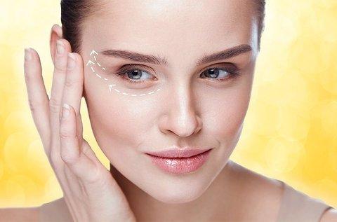 HIFU kezelés teljes felső szemhéjra és szarkalábra
