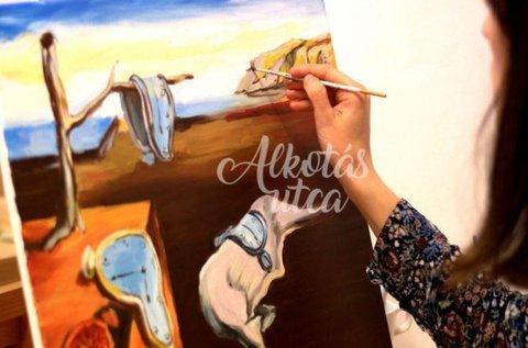Élményfestés egy választott festő műve alapján