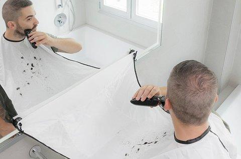 BorbélyMester otthoni borotválkozó kötény