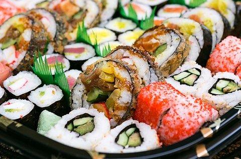 54 db-os prémium sushi tál 4 főre
