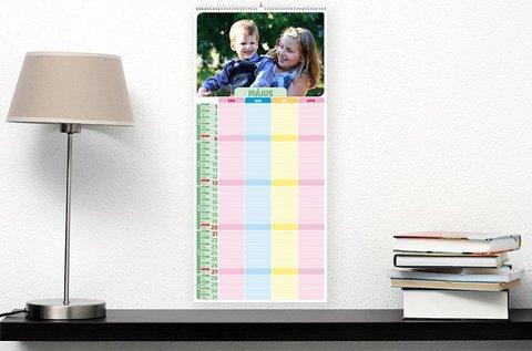 2019-es egyedi családi tervezőnaptár
