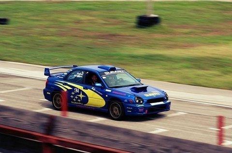2 körös Subaru Impreza élményvezetés
