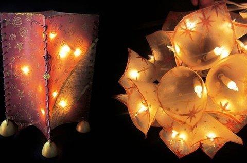 Lámpás vagy lámpafüzér készítő workshop
