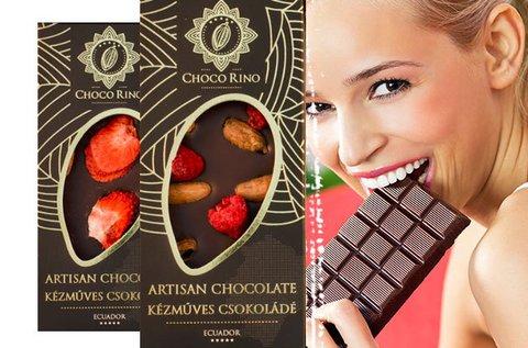 Chocorino csokoládé különleges ízekben