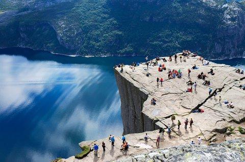 4 napos pihenés a fjordok országában, Norvégiában