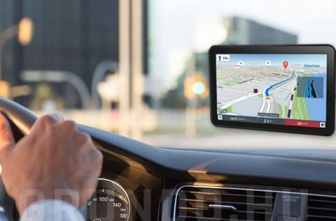 10 colos GPS világtérképpel