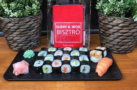 26 db-os mennyei sushi válogatás 2 főnek