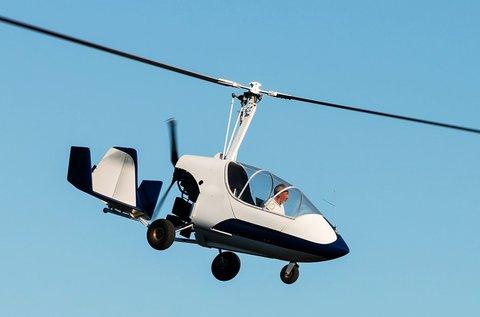 Tandem sárkányrepülés vagy gyrokopterezés