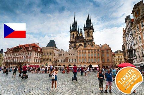 3 napos kikapcsolódás Prágában