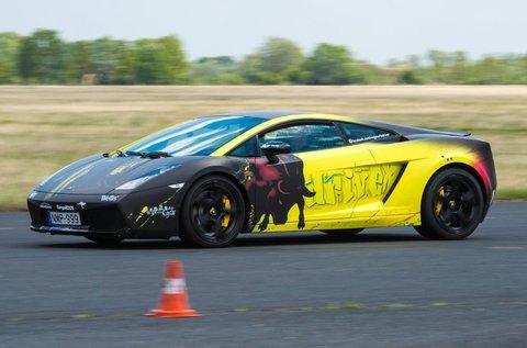 6 körös Lamborghini Gallardo LP 550-2 vezetés