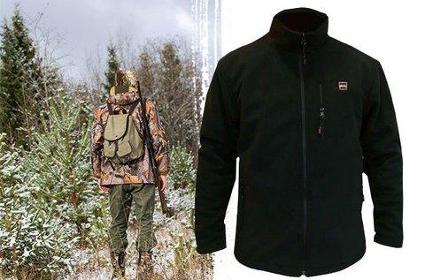 Fűthető polár kabát vagy nadrág vadászoknak