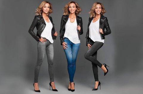 3 db Slim and Lift Jeans nadrág vegyes színekben