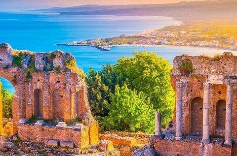9 napos buszos körutazás Szicíliában
