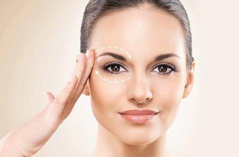 HIFU Ultra Age szem körüli területen és homlokon