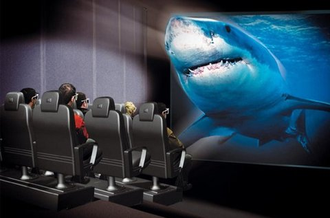 Valósághű 5D mozi élmény 1 fő részére