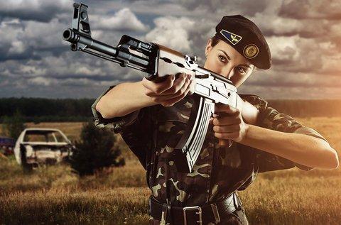Élménylövészet veterán orosz fegyverekkel