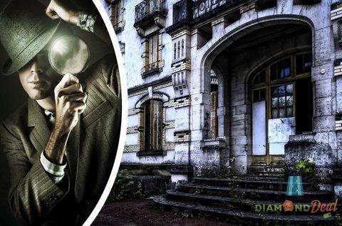 Rejtélyek Városa szabadtéri krimi társasjáték
