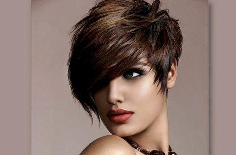 Professzionális hajvágás rövid hajra