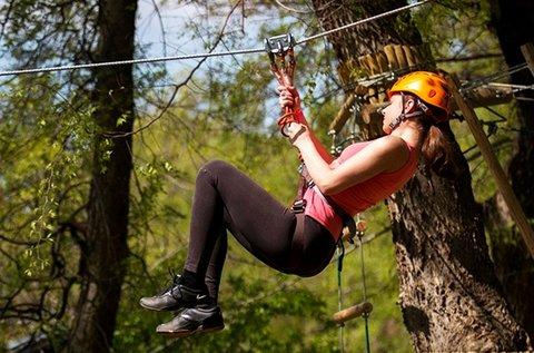 Bókay Kalandpark belépők 2,5 óra mászással