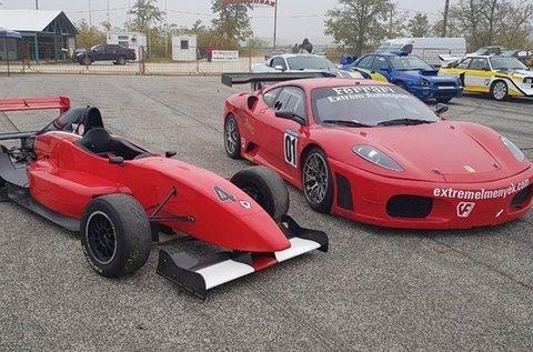 2-2 körös Ferrari F430 és Formula Renault vezetés