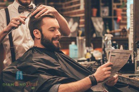 Férfi Barber Style hajvágás és szakálligazítás