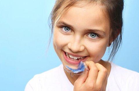 Kivehető fogszabályozó készülék készítés