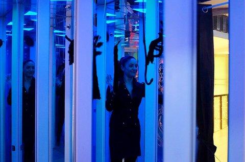 A félelem útja tükörlabirintus belépőjegy 1 fő részére