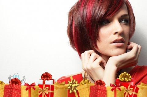 Csodás új frizura hajvágással és festéssel