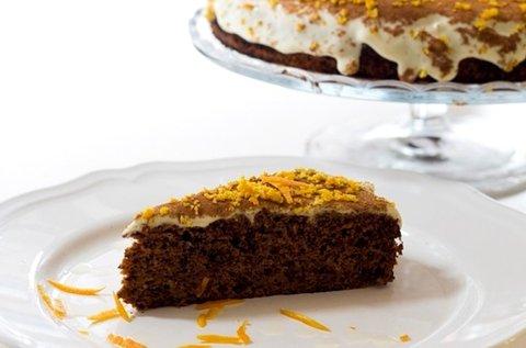 8 szeletes egészséges, rusztikus torta több ízben