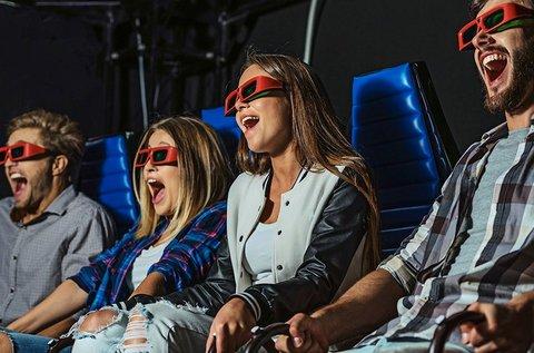 5D mozi és Tükörlabirintus belépőjegy 1 fő részére