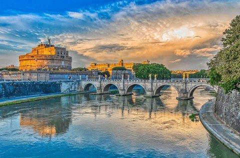 4 csillagos városlátogatás Rómában