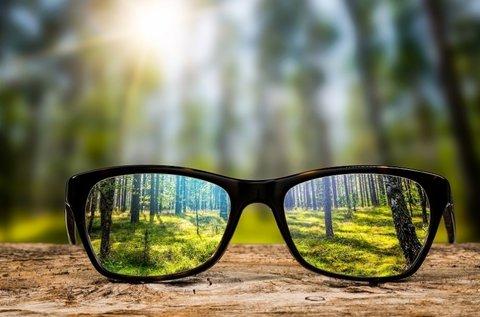 Új szemüveg készítése vékonyított lencsével
