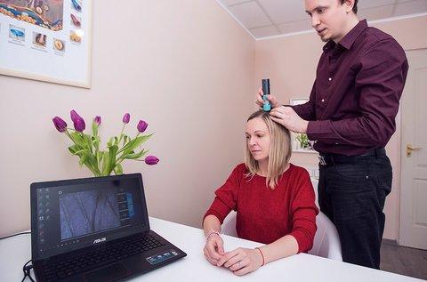 Haj- és fejbőrdiagnosztika laborvizsgálattal