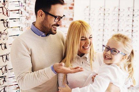 Komplett gyermek vagy felnőtt szemüveg készítése