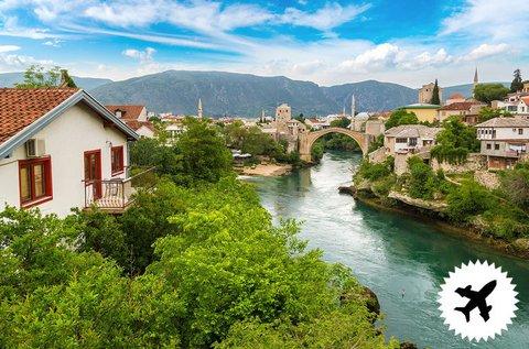 4 napos kalandos kirándulás Boszniában