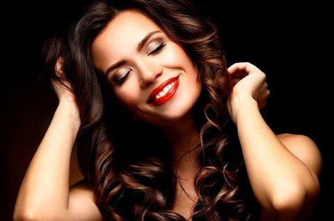 Luxus hajszerkezet építő kezelés igénybe vett hajra