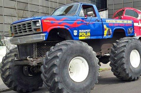 4 körös Monster Truck vezetés vagy autózás